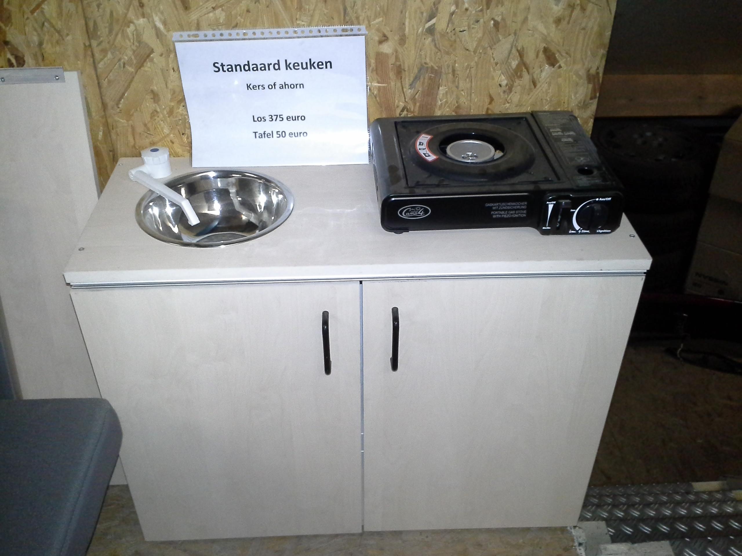 Keuken Inbouw Voor Campers